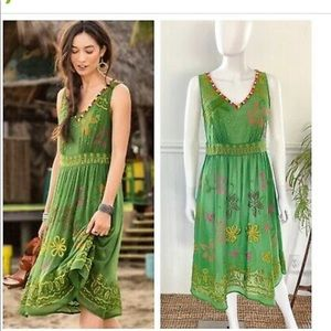 Brand new with tags beautiful embroidered dress